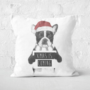Xmas Is Coming Square Cushion
