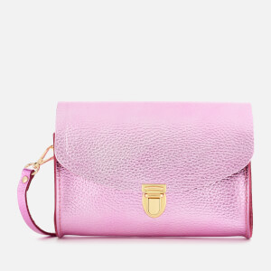 The Cambridge Satchel Company Women's The Push Lock Bag - Light Fuschia