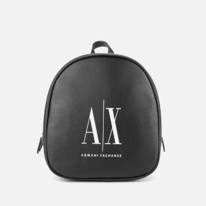 Armani Exchange Women's Logo Backpack - Black
