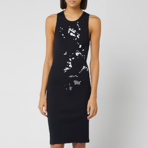 Helmut Lang Women's Masc Tank Dress - Basalt Black