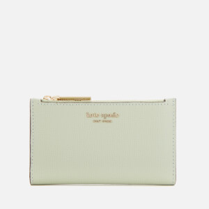 Kate Spade New York Women's Sylvia Small Slim Bifold Wallet - Pistachio