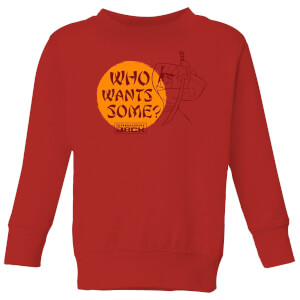 Samurai Jack Who Wants Some Kids' Sweatshirt - Red