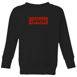 Samurai Jack Classic Logo Kids' Sweatshirt - Black