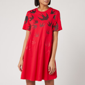 McQ Alexander McQueen Women's Dress - Rouge