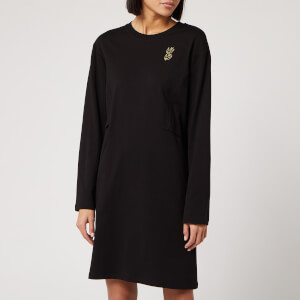 McQ Alexander McQueen Women's Shizoku Sweater Dress - Darkest Black