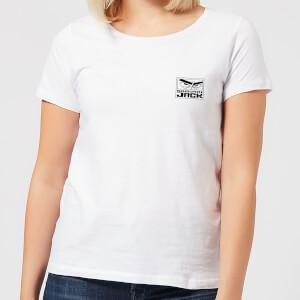 T-Shirt Samurai Jack Sunrise - Bianco - Donna