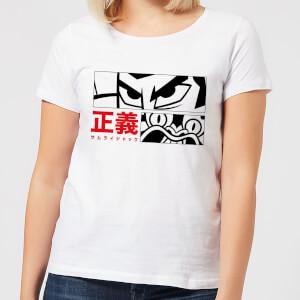 Samurai Jack Arch Nemesis Women's T-Shirt - White