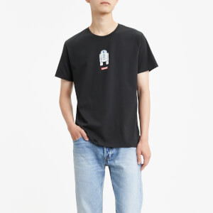 Levi's X Star Wars Men's Graphic Short Sleeve T-Shirt - Black