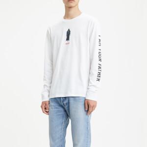 Levi's X Star Wars Men's Long Sleeve Graphic T-Shirt - White
