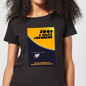 Modern Toss Space Argument Women's T-Shirt - Black