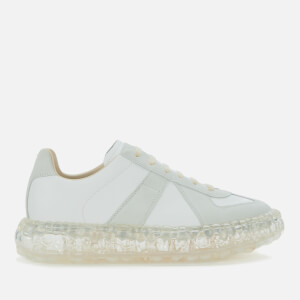 Maison Margiela Men's Replica Caviar Trainers - Off White