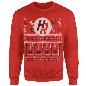 How Ridiculous Ugly Holiday Christmas Sweatshirt - Red