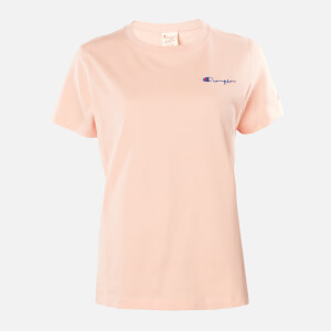Champion Women's Small Script T-Shirt - Pink