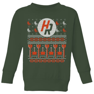 How Ridiculous Ugly Holiday Christmas Kids' Sweatshirt - Forest Green