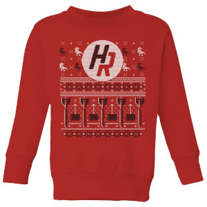 How Ridiculous Ugly Holiday Christmas Kids' Sweatshirt - Red