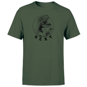 How Ridiculous Rexy Men's T-Shirt - Forest Green