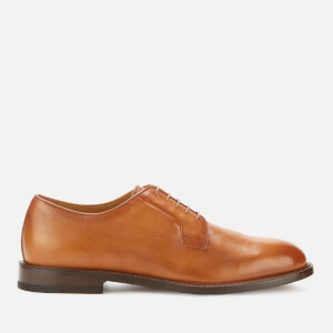 Paul Smith Men's Gale Leather Derby Shoes - Tan