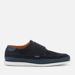 PS Paul Smith Men's Broc Suede Casual Shoes - Navy