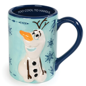 Frozen (Olaf Snowflakes) Shaped Mug
