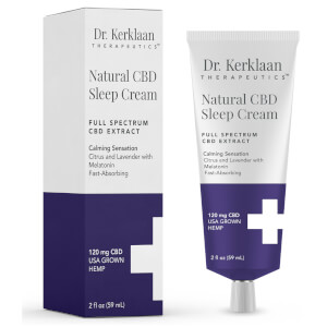 Dr Kerklaan Natural CBD Sleep Cream 2 oz