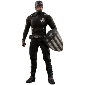 Hot Toys Marvel MMS Action Figure 1/6 Captain America Concept Art 2018 Toy Fair Exclusive 31cm