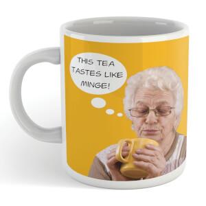 This Tea Tastes Like Minge! Mug