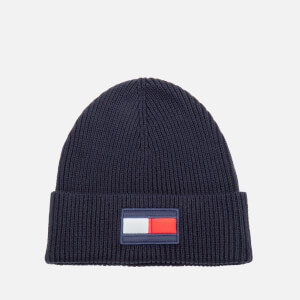 Tommy Hilfiger Men's Big Flag Beanie - Sky Captain