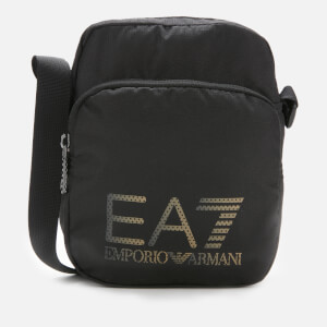 Emporio Armarni EA7 Men's Large Logo Cross Body Bag - Black