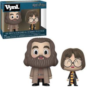 Funko Hagrid and Harry Potter VYNL.