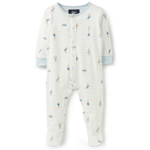 Joules Baby Ziggy Official Peter Rabbit Collection Printed Babygrow