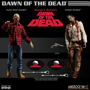 Mezco One:12 Collective Dawn of the Dead Boxed Set