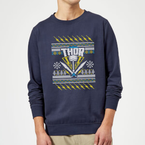 Thor Christmas Sweater - Navy
