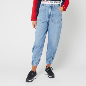 Tommy Jeans Women's High Rise Elasticated Jeans - Carol Lt Bl Rig