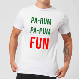Pa-Rum Pa-Pum Fun Men's T-Shirt - White