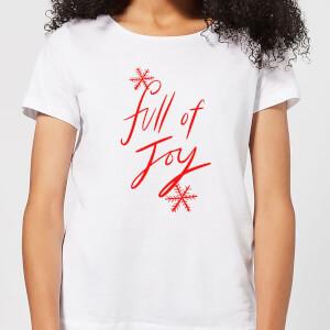 Full Of Joy Women's T-Shirt - White