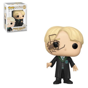 Harry Potter Draco Malfoy with Whip Spider Pop! Vinyl Figure