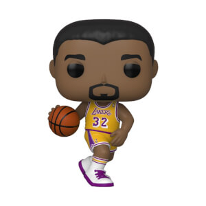 NBA Legends Magic Johnson Lakers Home Jersey Funko Pop! Vinyl