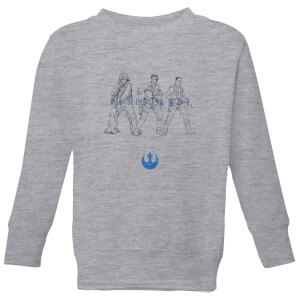 Sudadera The Rise of Skywalker Resistance - Niño - Gris