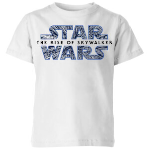 The Rise of Skywalker Hyperspace Logo Kids' T-Shirt - White