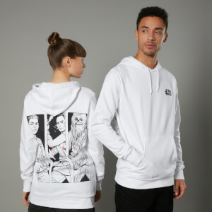 Sudadera capucha The Rise of Skywalker Resist - Unisex - Blanco