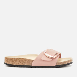 Birkenstock Women's Madrid Big Buckle Nubuck Single Strap Sandals - Old Rose