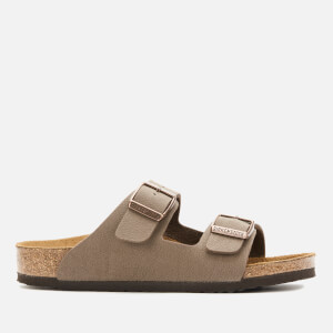 Birkenstock Kids' Arizona Nubuck Double Strap Sandals - Mocha