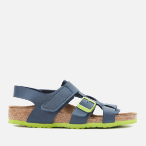 Birkenstock Kids' Nil Fisherman Sandals - Desert Soil Vibrant Blue