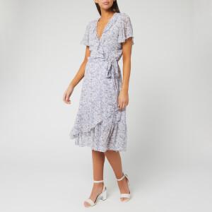 MICHAEL MICHAEL KORS Women's Dainty Bloom Midi Dress - Lavender Mist