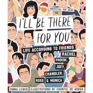 Friends 'I'll Be There For You' Hardback Book