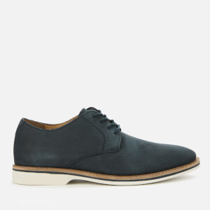 Clarks Men's Atticus Lace Nubuck Derby Shoes - Navy