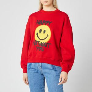 Philosophy di Lorenzo Serafini Women's Happy Without You Sweatshirt - Red