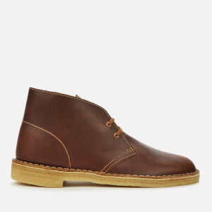 Clarks Originals Men's Leather Desert Boots - Tan