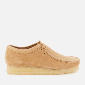 Clarks Originals Men's Wallabee Shoes - Light Tan Combi