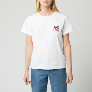 A.P.C. Women's Voltimand T-Shirt - White